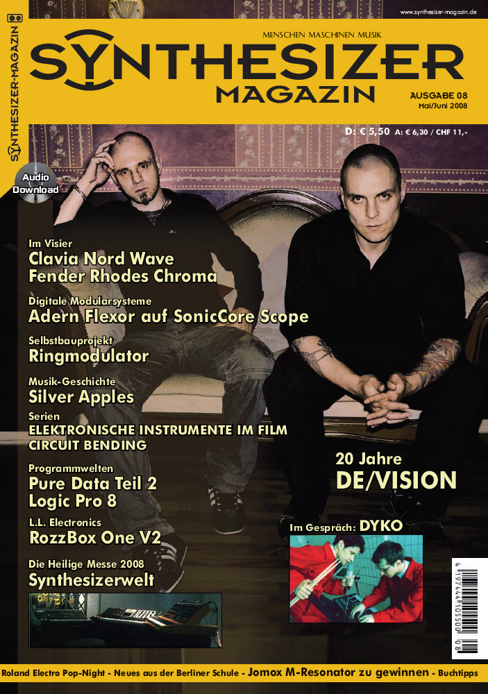 SynMag - Das Synthesizer-Magazin 08