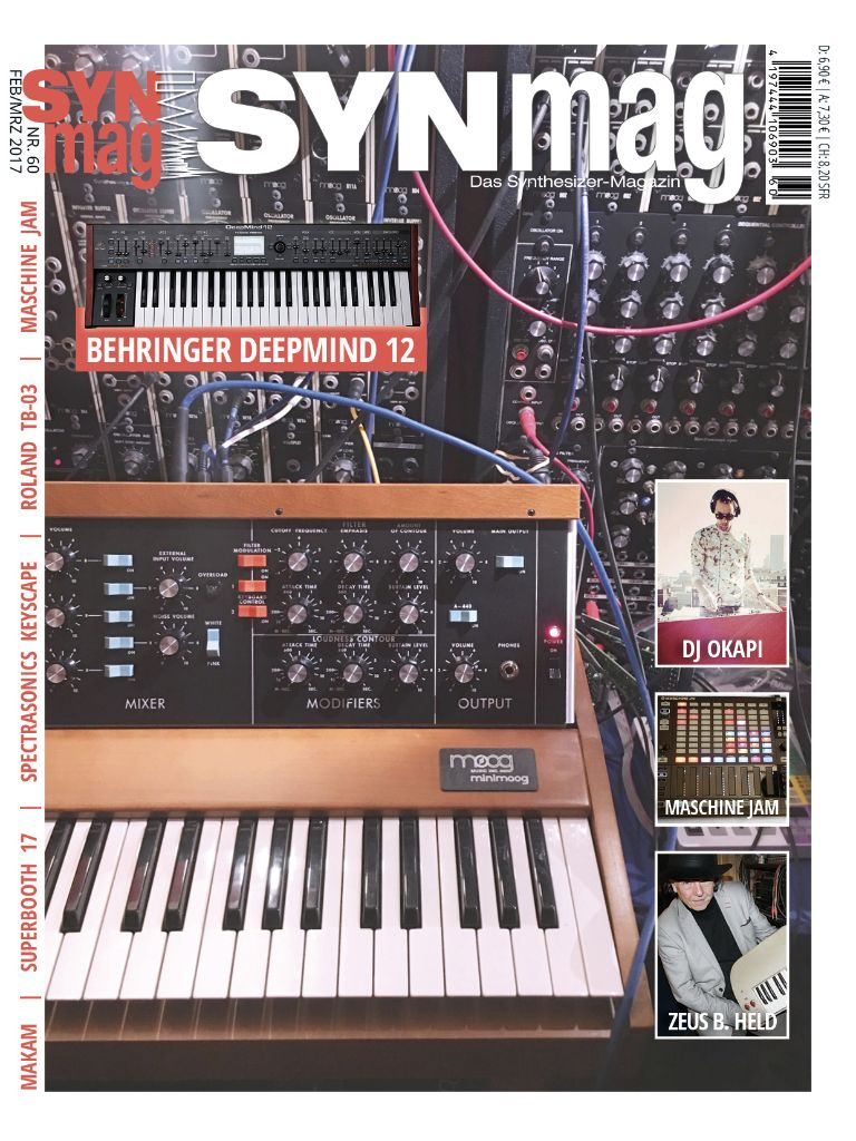 SynMag 60 - Das Synthesizer-Magazin - Inhalte