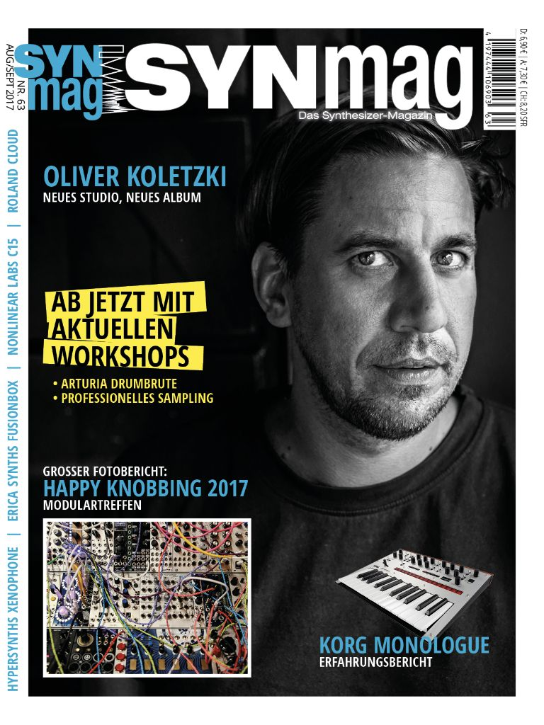 SynMag 63 - Das Synthesizer-Magazin