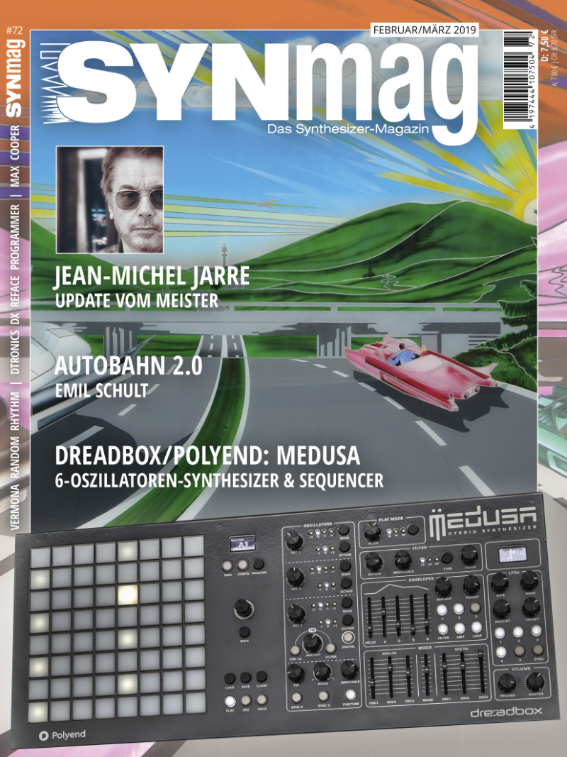 SynMag72 Das Synthesizer-Magazin