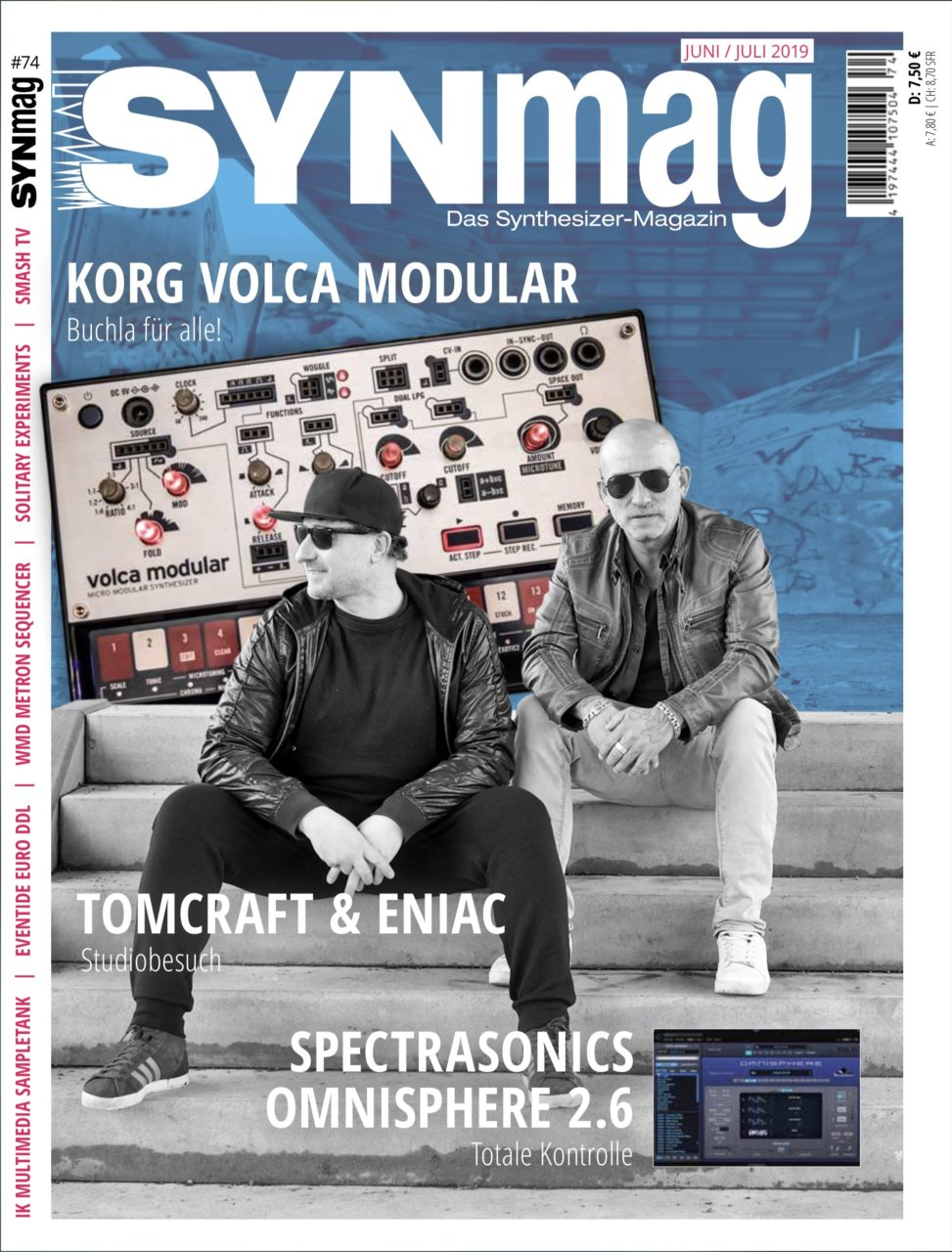 SynMag 74 Das Synthesizer-Magazin