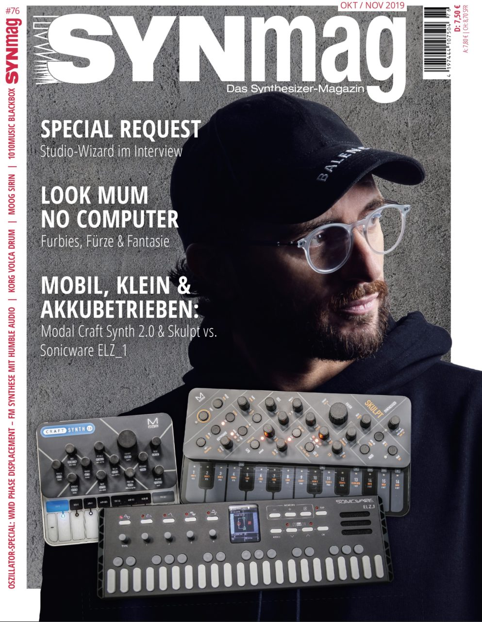 SynMag 76 - Das Synthesizer-Magazin