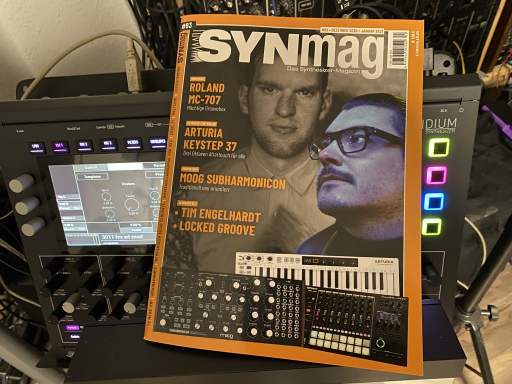 SynMag83 - Das Synthesizer-Magazin