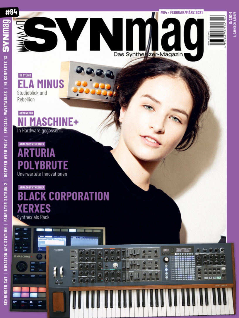 Synmag84 Cover - Das Synthesizer-Magazin